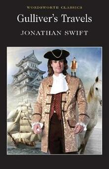 Gulliver's Travels - Jonathan Swift - cover