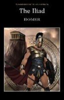 The Iliad - Homer - cover