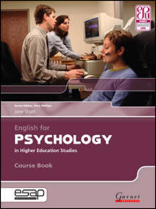 English for Psychology Course Book + CDs - Jane Short - cover
