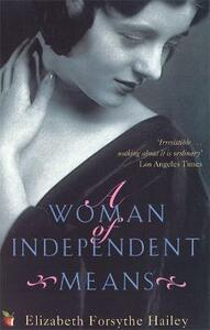 A Woman Of Independent Means - Elizabeth Forsythe Hailey - cover