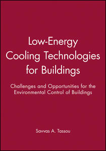 Low-Energy Cooling Technologies for Buildings: Challenges and Opportunities for the Environmental Control of Buildings - cover