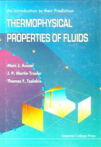 Thermophysical Properties Of Fluids: An Introduction To Their Prediction - Marc J. Assael - cover