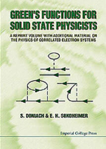 Green's Functions For Solid State Physicists - Sebastian Doniach,Ernst Sondheimer - cover