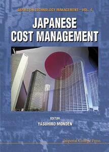 Japanese Cost Management - Yasuhiro Monden - cover
