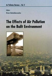 Effects Of Air Pollution On The Built Environment, The - Peter Brimblecombe - cover