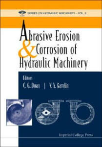Abrasive Erosion And Corrosion Of Hydraulic Machinery - cover