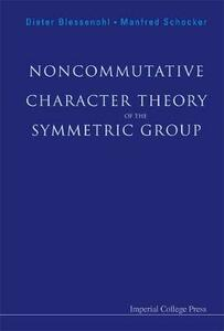 Noncommutative Character Theory Of The Symmetric Group - Dieter Blessenohl,Manfred Schocker - cover