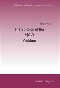Solution Of The K(gv) Problem, The - Peter Schmid - cover