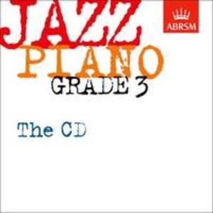 Jazz Piano Grade 3: The CD - cover