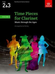 Time Pieces for Clarinet, Volume 2: Music through the Ages in 3 Volumes - cover