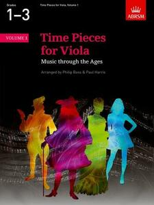 Time Pieces for Viola, Volume 1: Music through the Ages in Two Volumes - cover