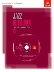 Jazz Alto Sax CD Level/Grade 4 - cover