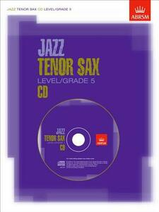 Jazz Tenor Sax CD Level/Grade 5: Not for sale in North America - cover