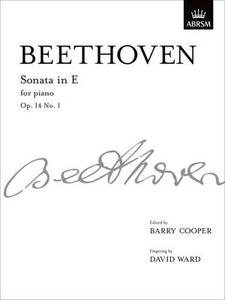 Sonata in E, Op. 14 No. 1: from Vol. I - cover