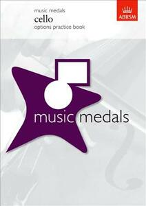 Music Medals Cello Options Practice Book - cover
