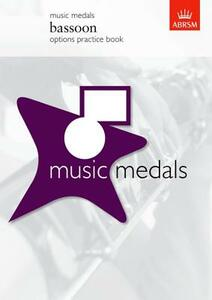 Music Medals Bassoon Options Practice Book - cover