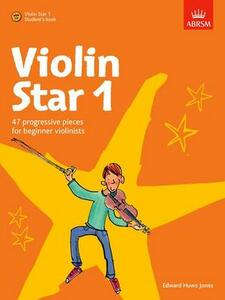 Violin Star 1, Student's book, with CD - cover