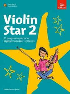 Violin Star 2, Student's book, with CD - cover