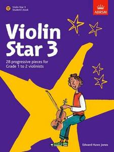 Violin Star 3, Student's book, with CD - cover
