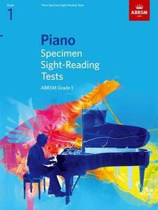 Piano Specimen Sight-Reading Tests, Grade 1 - cover