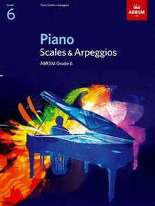 Piano Scales & Arpeggios, Grade 6 - cover