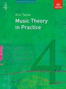 Music Theory in Practice, Grade 4 - Eric Taylor - cover