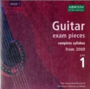 Guitar Exam Pieces 2009 CD, ABRSM Grade 1: The complete syllabus starting 2009 - cover