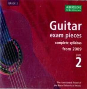 Guitar Exam Pieces 2009 CD, ABRSM Grade 2: The complete syllabus starting 2009 - cover