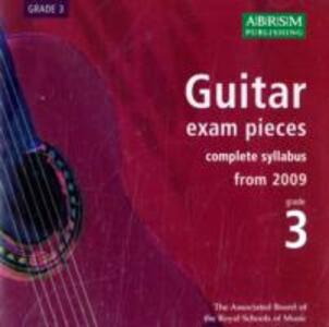Guitar Exam Pieces 2009 CD, ABRSM Grade 3: The complete syllabus starting 2009 - cover
