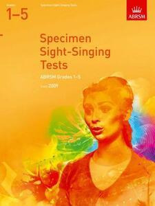 Specimen Sight-Singing Tests, Grades 1-5 - cover