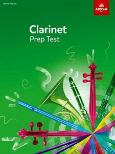 Clarinet Prep Test - cover