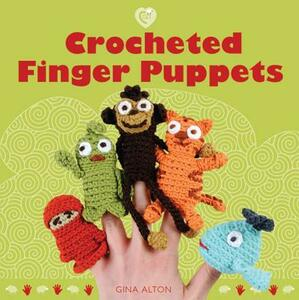Crocheted Finger Puppets - Gina Alton - cover