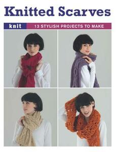 Knitted Scarves - Gmc Editors - cover