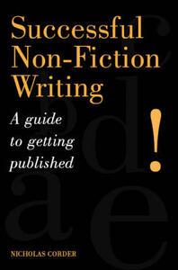 Writing Non-Fiction for Profit - Nicholas Corder - cover