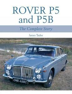 Rover P5 & P5B - James Taylor - cover