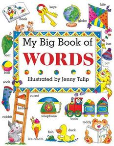 My Big Book of Words - Isobel Clark - cover