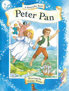 A Storyteller Book: Peter Pan - J. M. Barrie - cover