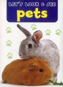 Let's Look & See: Pets - cover