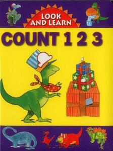 Look and Learn with Little Dino: Count 123 - cover