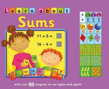 Learn about sums: With Over 80 Magnets to Use Again and Again! - Brenda Apsley - cover