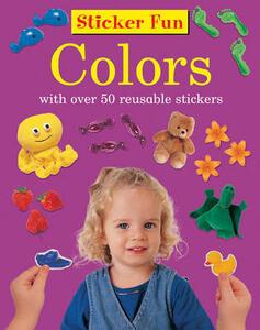 Sticker Fun - Colours - Armadillo Press - cover