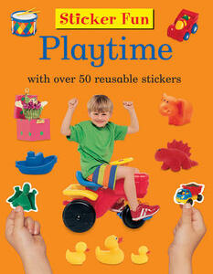 Sticker Fun - Playtime - Armadillo Press - cover