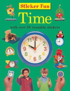 Sticker Fun - Time - Armadillo Press - cover