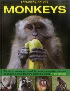 Exploring Nature: Monkeys - Tom Jackson - cover