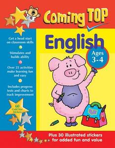 Coming Top: English - Ages 3-4 - Alison Hawes - cover