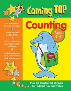 Coming Top: Counting - Ages 3-4 - Sarah Eason - cover