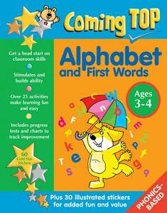 Coming Top: Alphabet and First Words - Ages 3-4 - Louisa Somerville - cover