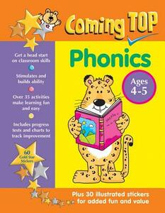 Coming Top: Phonics - Ages 4 - 5 - Louisa Somerville - cover