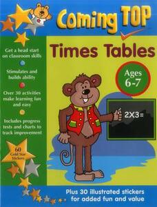 Coming Top: Times Tables - Ages 6-7 - Louisa Somerville,David Smith - cover
