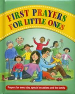 First Prayers for Little Ones - cover